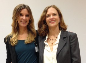 Anna Sommer & Karin Thier auf der KnowTech 2014