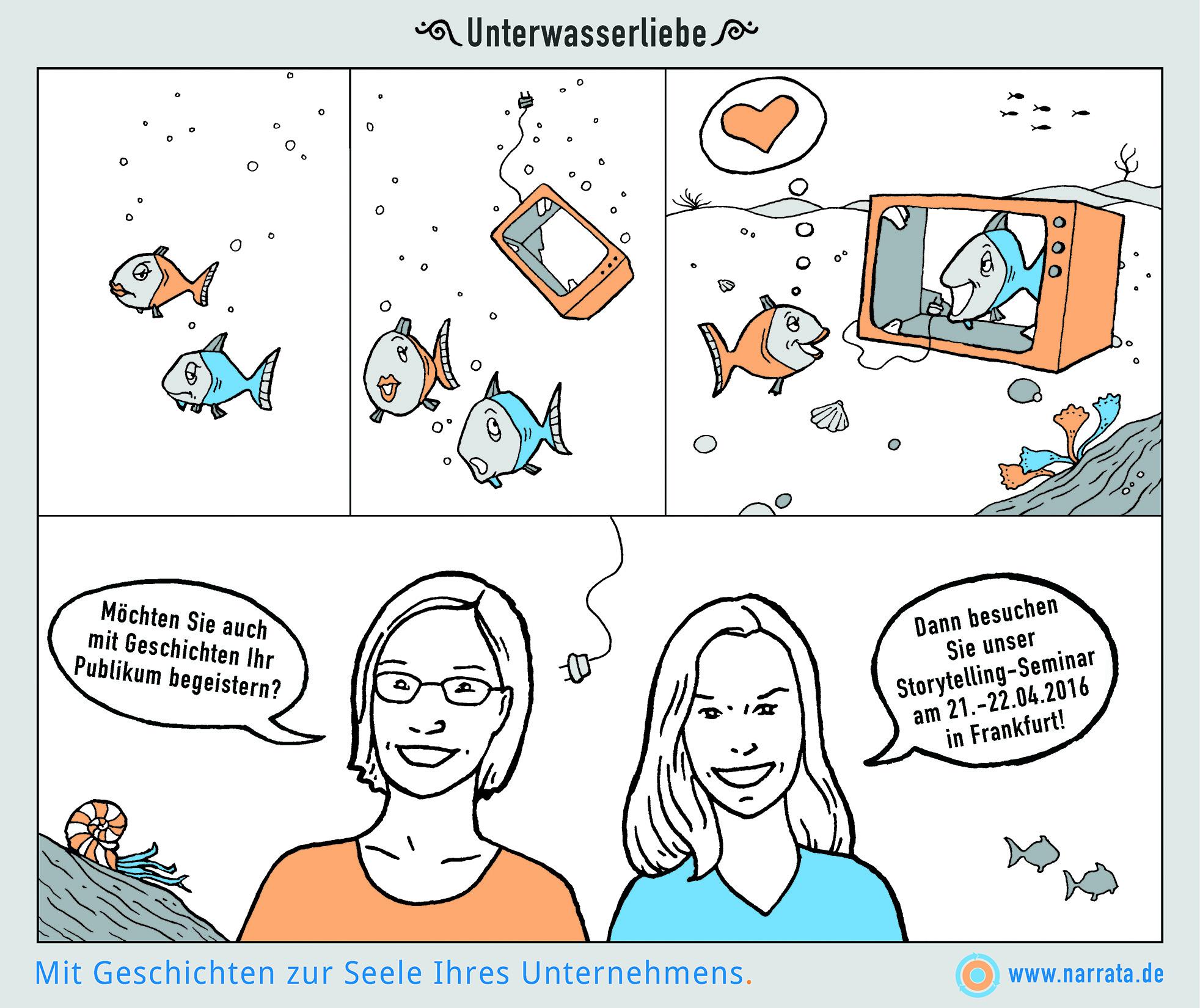 Unterwasserliebe_NARRATA_Comic