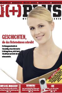 Cover des österreichischen Wirtschaftsmagazines Report Plus